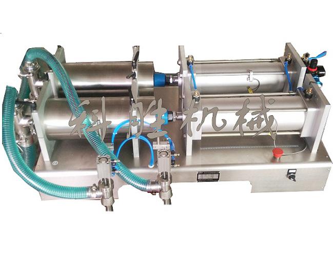 双头液体灌装机|洗衣液灌装机