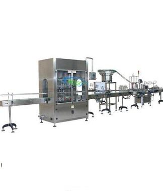 食用油灌装生产线|全自动调和油灌装生产线